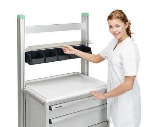 Zubehör Treston Medi - Aluminiumschiene