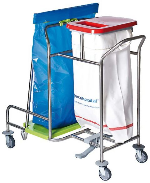 Kominierte Wäsche-/Müllsammler